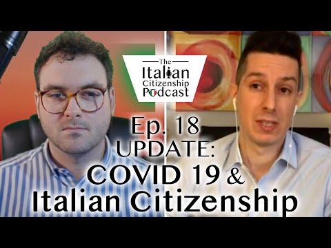 Update: Coronavirus In Italy And Italian Citizenship