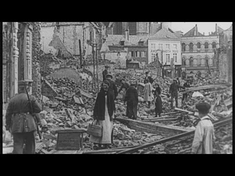The last survivor of the destruction of Louvain in WW1 | Channel 4 News