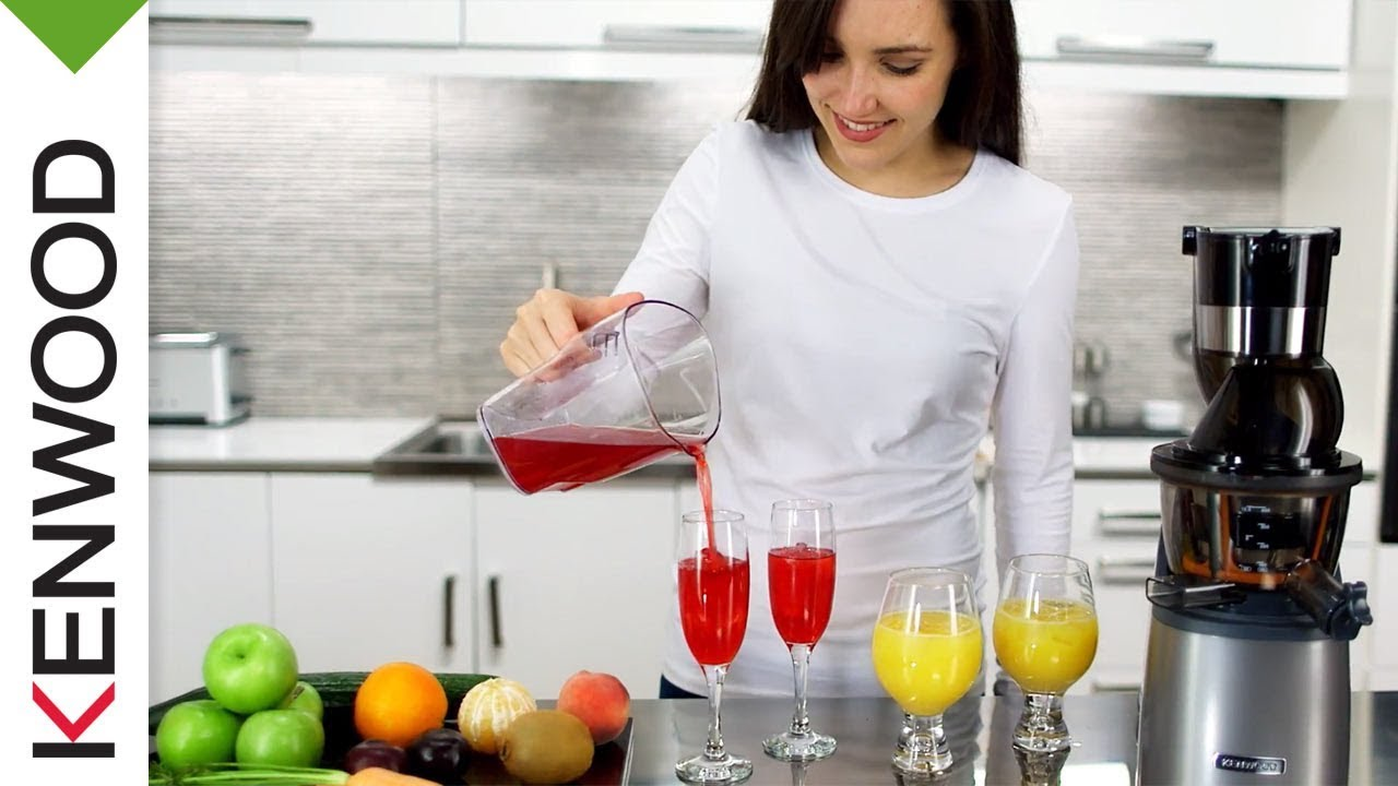 Slow Juicer Kenwood Pure Juice PRO - YouTube