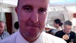 Brisbane to Auckland Flights Emirates Airbus A380 Interiview