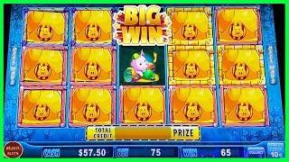 BIG WIN! HUFF N' PUFF LOCK IT LINK SLOT MACHINE | BONUS | LIVE SESSION
