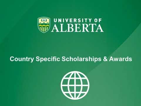 Scholarships For International Students At Ualberta Youtube