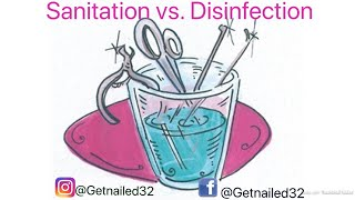 How To Sanitize And Disinfectant Nail Implements