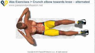 HOw to lose belly fat - Bicycle Crunch Exercise