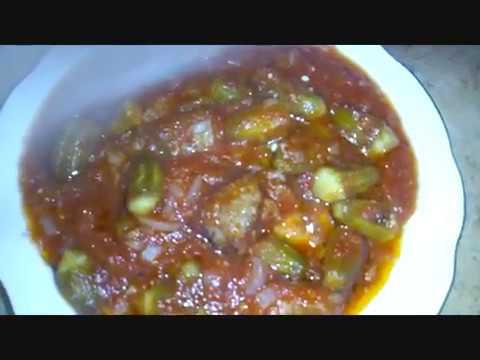 طريقة عمل باميه بالصلصه مطبخ جدتي حبيبتي Youtube