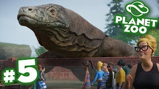 The Great Komodo Dragon Escape!!! - Planet Zoo | Ep5 HD
