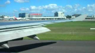 Qantas Boeing 747 400ER Wunala Dreaming Take Off  Sydney (Kingsford Smith) Airport NSW Australia