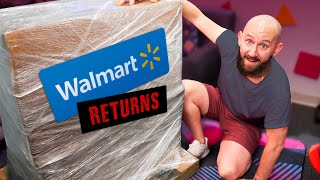 We Bought A GIANT Mystery Crate of Walmart Returns!