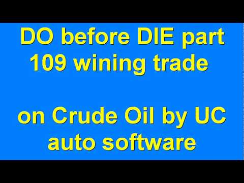 DO before DIE part 109 Automated Algo Trading Software from Ultachaal on MCX Crude Oil