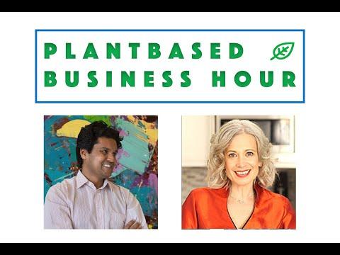 Can One App Change the World?  CEO Vikas Garg of abillionveg on The Plantbased Business Hour