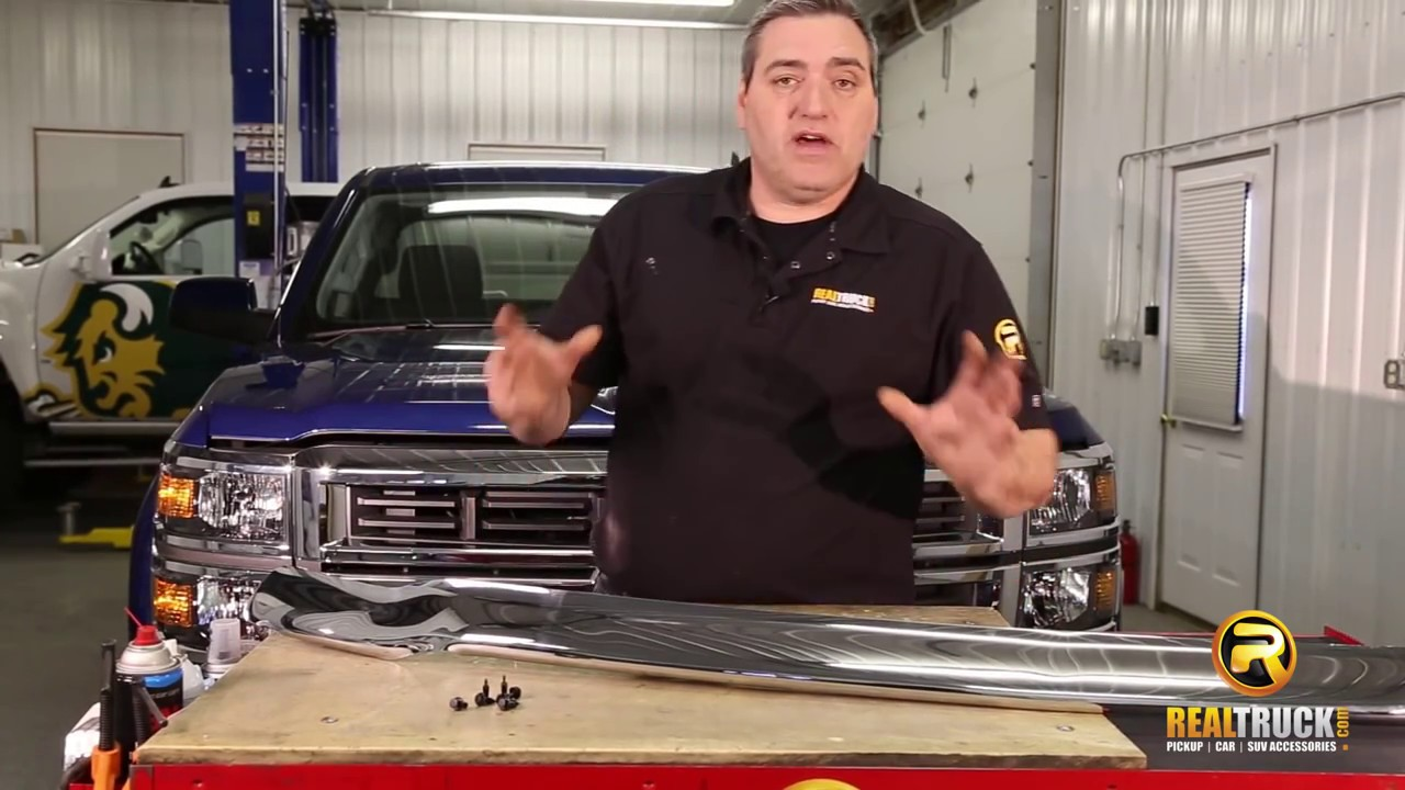 How to install stampede chrome bug shield realtruck com