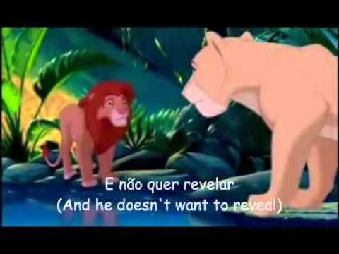 The Lion King - Can you Feel the Love Tonight (EU Portuguese) *Lyrics*