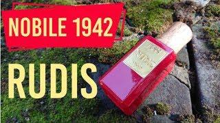 PACHNĄCY TYP - Perfumy Nobile 1942 Rudis, kadzidło, róża i wino