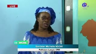THE INSIDE (Guest: Barrister. Michelle NDOKI / politician CRM) SUNDAY MARCH 1st EQUINOXE TV