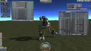 KSP - Mechwarrior walker 57 - Geth v1,2,3