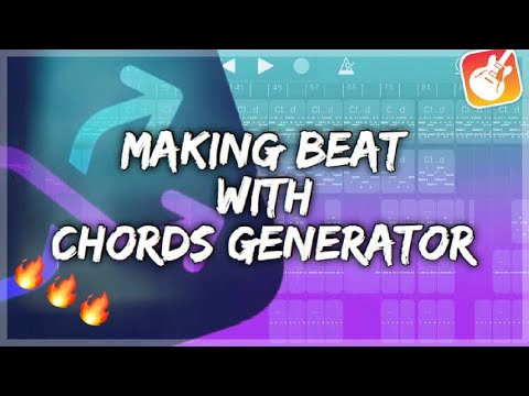 Making Beat With Chords Progressions Generator App on GarageBand iOS
