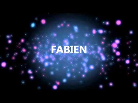 Joyeux Anniversaire Fabien Youtube