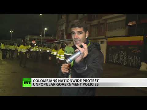 Live: Now Colombia Erupts In Protests