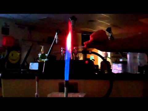 MegaLab - Flame Test - Li, Na, K, Ca, Sr, Ba, Cu
