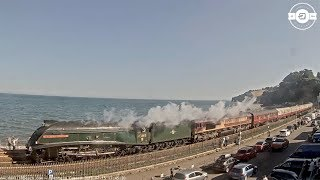 60009 Union of South Africa hauls the Torbay Express 15 Jul 2018