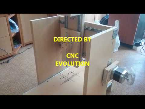 CNC ROUTER MY SECOND PROJECT PART 1 DIY HOMEMADE FRESADORA
