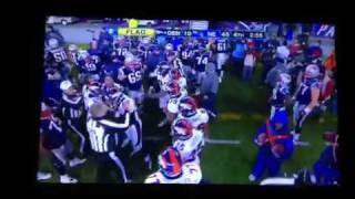 Tom Brady punt leads to sideline brawl