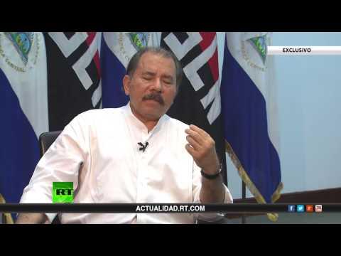 Cmdte. Presidente Daniel Ortega concede entrevista a RT