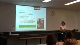 Speech Pathology: Early childhood literacy and the role of the speech-language pathologist
