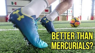 TESTING THE THINNEST FOOTBALL BOOTS OF ALL-TIME! *ARE THEY BETTER THAN NIKE MERCURIALS?*