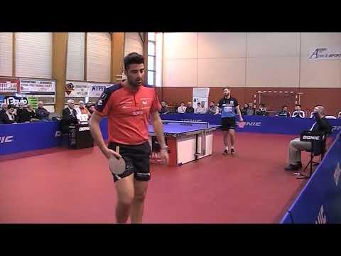 ETTU CUP 2018 : Jon Persson vs Pangiotis Gionis (full match)