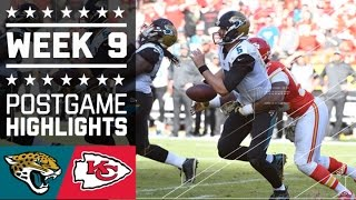 Jaguars vs. Chiefs | NFL Week 9 Game Highlights