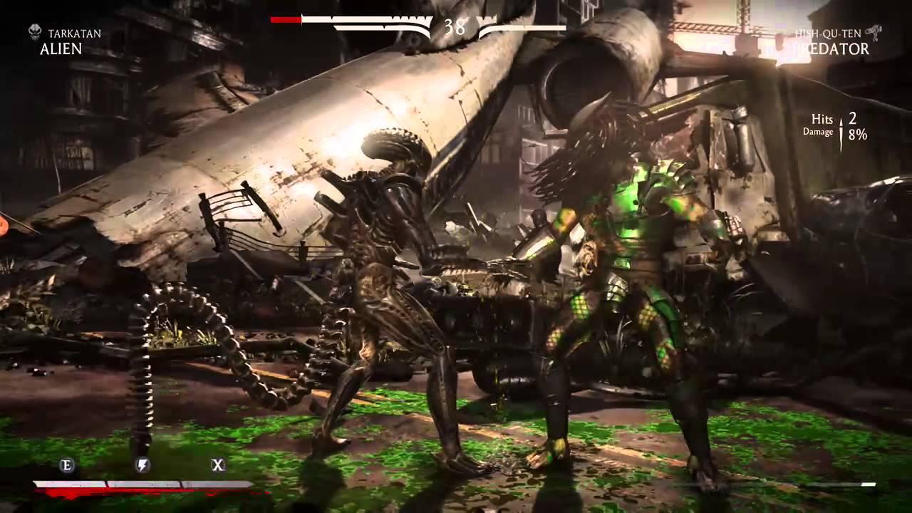 Mortal Kombat XL gameplay