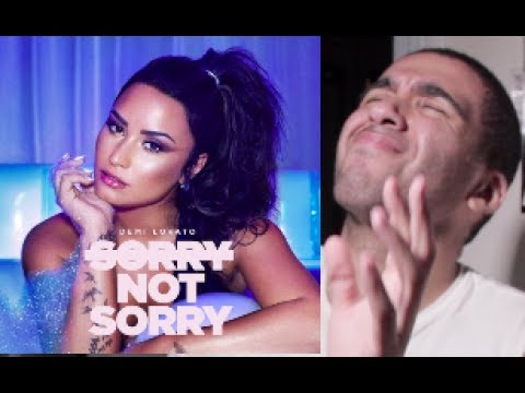Demi Lovato - Sorry, Not Sorry REACTION