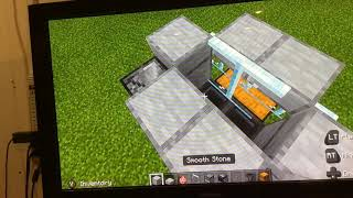 Cooked pork chop farm. Minecraft tutorial.