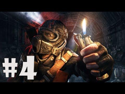 Metro 2033 Redux прохождение #4:Призраки повсюду!(ps4)