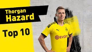 Top 10 Goals & Assists | Thorgan Hazard
