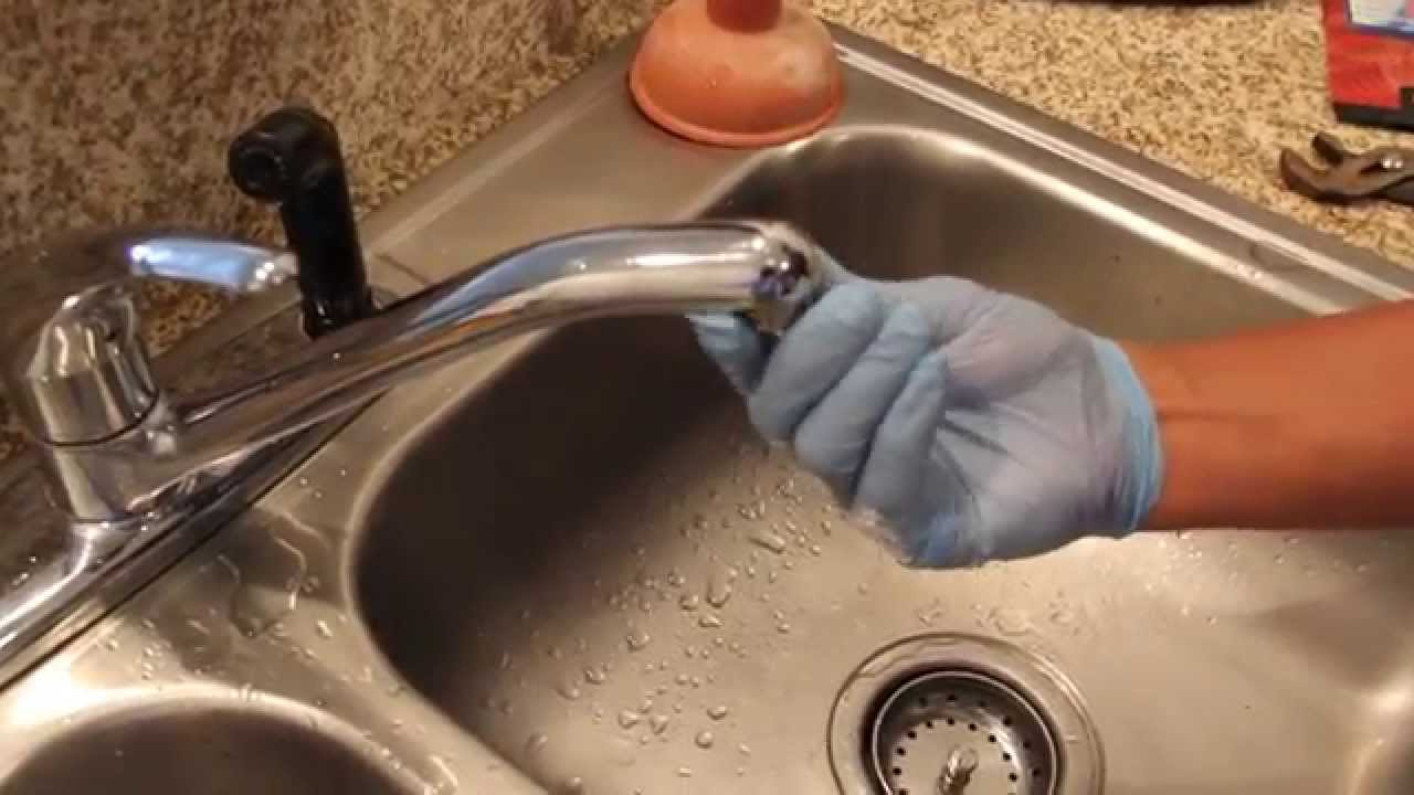 replacing a kitchen sink faucet how to replace your faucet aerator 25589