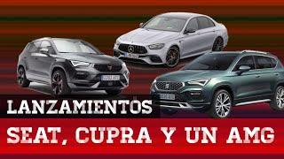 Lanzamientos de Seat, la nueva marca Cupra y el Mercedes AMG E63S.