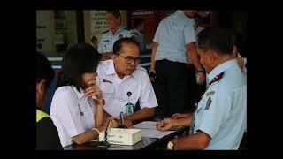 Kunjungan Tim Staff WBK WBBM Ahli ke Kanim Banjarmasin