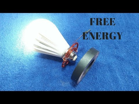 Free Energy Magnet Generator 101% Free Electricity Generator New Idea