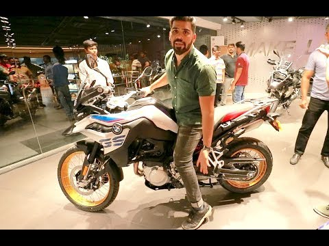 Taking delivery of BRAND NEW 2018 BMW GS850