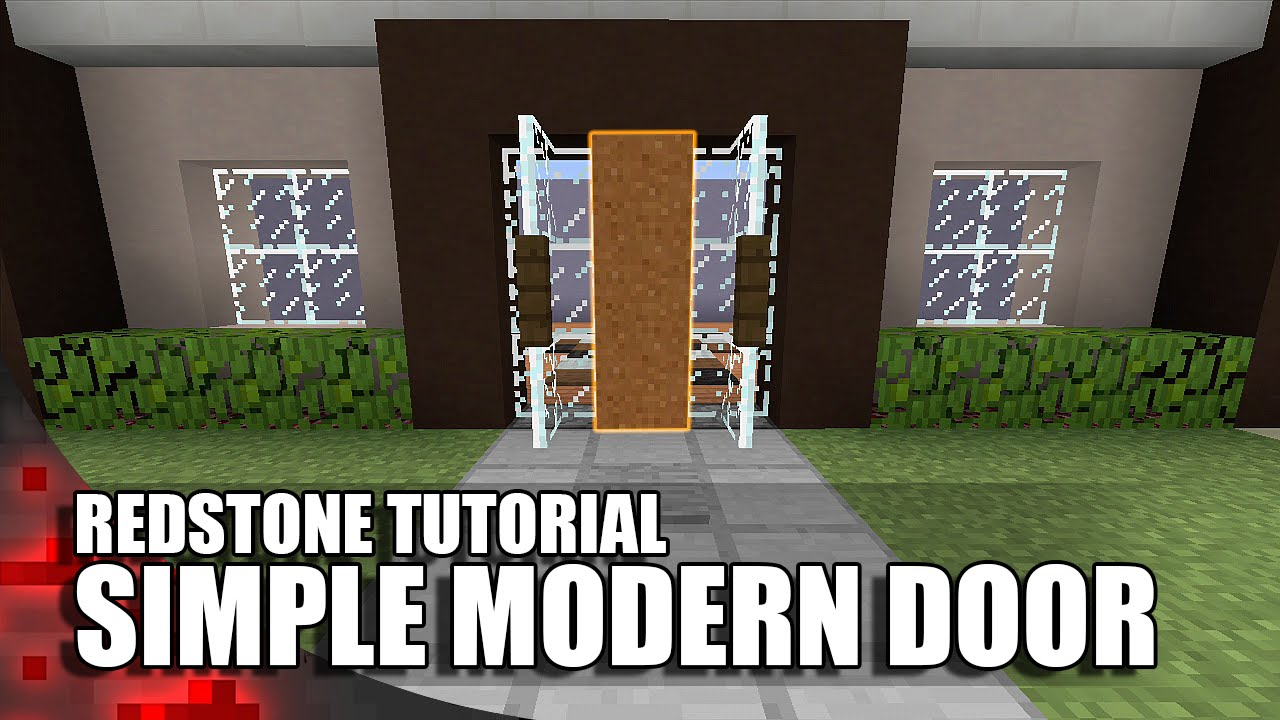 Minecraft Simple Modern Door