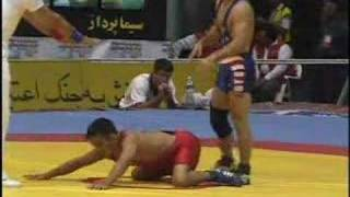 Sammie Henson wrestling 1998 freestyle world championships