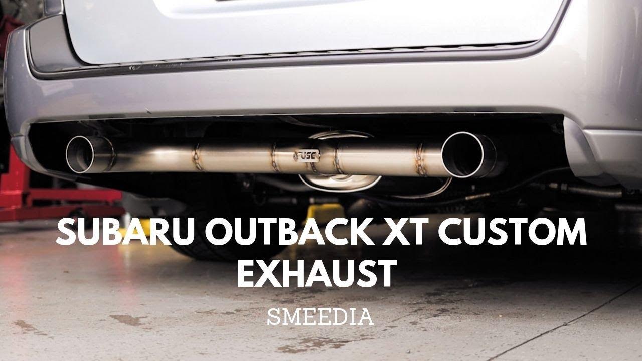 subaru outback xt custom exhaust