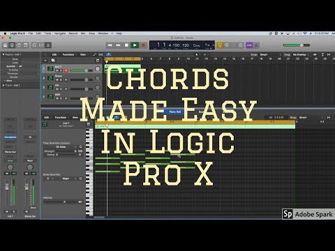 Chord Progressions made easy in Logic Pro X