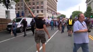 Unite the Right 2 Rally held in Washington, DC