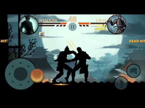 Shadow Fight 2-beating Lynx-eclipse