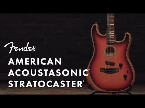 Inside The American Acoustasonic Stratocaster   Fender