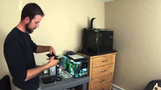 Ecotech Radion Xr15 Freshwater Led And Rms Unboxing And Install