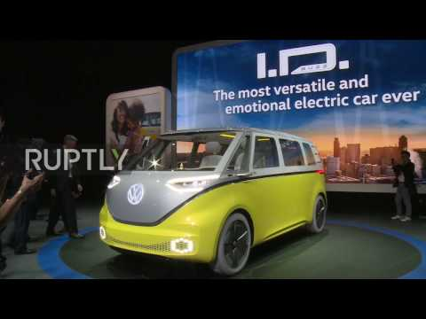 USA: Hippies, time to take a back seat as VW's iconic campervan gets hyper-hipster revamp